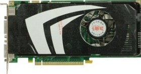 Colorful GeForce 9600 GT, 512MB DDR3, 2x DVI, S-Video, PCIe 2.0