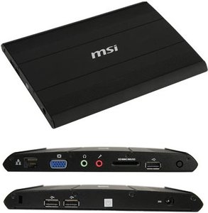 MSI WindBOX II 9A25-2716, Atom N270, 1GB RAM, 160GB, FreeDOS (009A25-030)