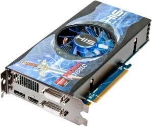 HIS Radeon HD 6850 Fan, 1GB GDDR5, 2x DVI, HDMI, DisplayPort (H685FN1GD)