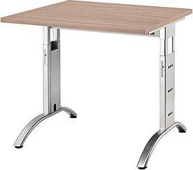 Hammerbacher Ergonomic Plus F-Serie FS08/N, Nussbaum, Schreibtisch