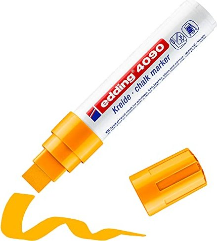 edding 4090 Kreidemarker neonorange, 5er-Pack (4-4090066) -- via Amazon Partnerprogramm