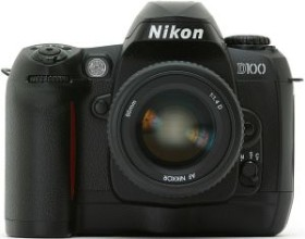Nikon D100 schwarz Body (VBA102EA)