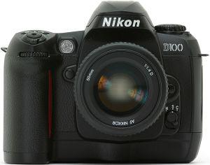 Nikon D100 schwarz Gehäuse (VBA102EA)