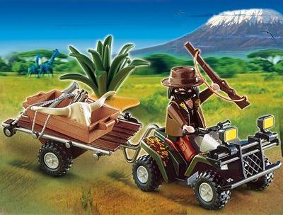 playmobil Wild Life - Wilderer Quadgespann (4834) -- via Amazon Partnerprogramm