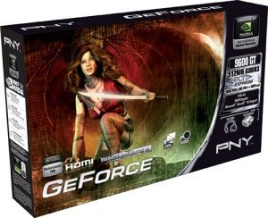 PNY Verto GeForce 9600 GT, 512MB DDR3, 2x DVI, TV-out (GH9600GN1F51XPB)