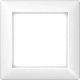 Jung Serie AS Rahmen Duroplast 1-fach, alpinweiß (AS 581 WW)