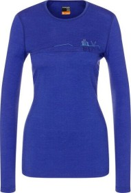 Icebreaker Merino 200 Oasis Crewe Skis in Snow Shirt langarm mystic (Damen) (104897-510)
