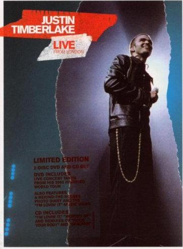 Justin Timberlake - Live From London -- via Amazon Partnerprogramm