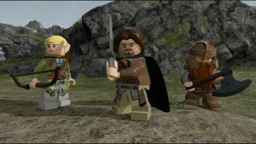 Lego Lord of the Rings (English) (PSVita)