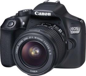 Canon EOS 1300D schwarz mit Objektiv Fremdhersteller