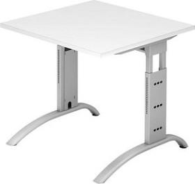 Hammerbacher Ergonomic Plus F-Serie FS08/W, weiß, Schreibtisch