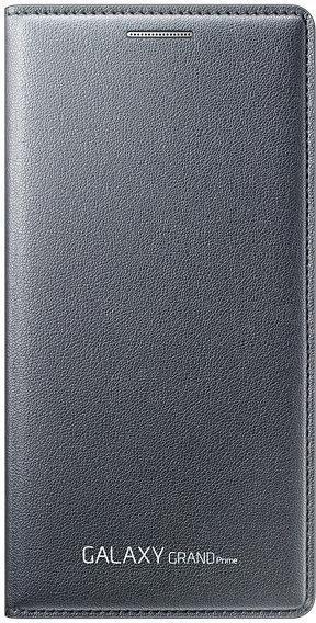 Samsung EF-WG530BS Flip Wallet für Galaxy Grand Prime silber