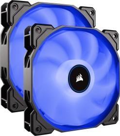 Corsair Air Series LED Blue AF140 [2018], 140mm, 2er-Pack (CO-9050090-WW)