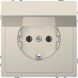 Merten System Design SCHUKO-Steckdose, sahara (MEG2310-6033)