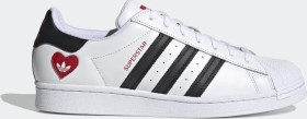 adidas Superstar cloud white/core black/scarlet (FZ1807)