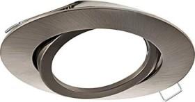 Eglo Tedo circular 8cm built-in light nickel matte (96617)