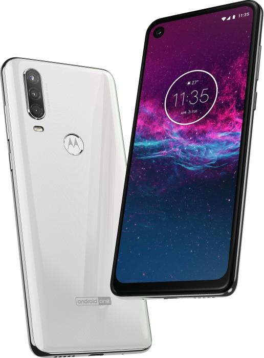 Motorola One Action Dual-SIM pearl white