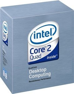 Intel Core 2 Quad Q6600  95W, 4x 2.40GHz, boxed (BX80562Q6600)