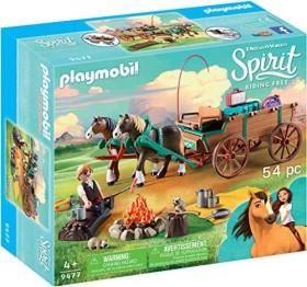 playmobil Spirit - Riding Free - Vater Jim mit Kutsche (9477)