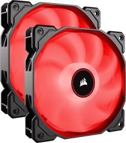 Corsair Air Series LED Red AF140 [2018], 140mm, 2er-Pack (CO-9050089-WW)