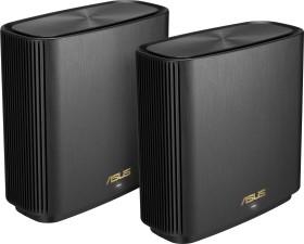 ASUS ZenWiFi AX XT8 AX6600, schwarz, 2er-Pack (90IG0590-MO3G20/90IG0590-MO3G60)