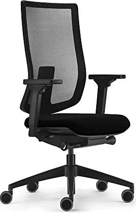 Sedus se:do pro light Bürostuhl mit Armlehnen, Sitzpolster, schwarz (ap-197/001) -- via Amazon Partnerprogramm