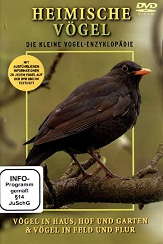 Heimische birds: house, Hof, Garden, field and Flur -- via Amazon Partnerprogramm