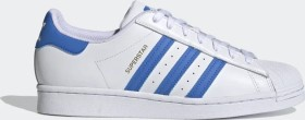 adidas Superstar cloud white/true blue/gold metallic (H68093)