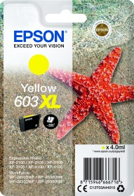 Epson Tinte 603XL gelb (C13T03A44010)