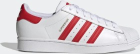 adidas Superstar cloud white/vivid red/gold metallic (H68094)