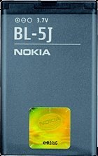 Nokia BL-5J rechargeable battery (02711B5)