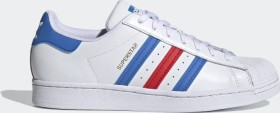 adidas Superstar cloud white/true blue/gold metallic (H68095)