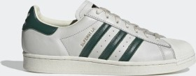adidas Superstar off white/collegiate green (H68186)