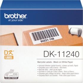 Brother DK-11240 Etiketten, 102x51mm, weiß, 1 Rolle (DK11240)