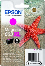 Epson Tinte 603XL magenta (C13T03A34010)