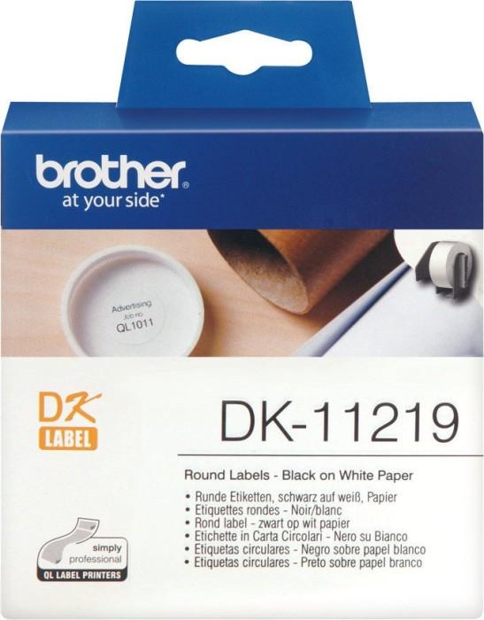 Brother DK-11219 Runde Etiketten