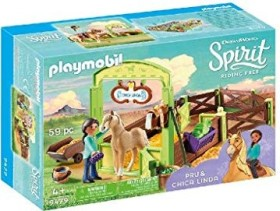 playmobil Spirit - Riding Free - Pferdebox Pru & Chica Linda (9479)