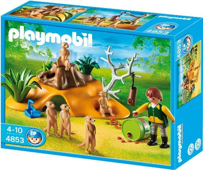 playmobil - City Life - Erdmännchenkolonie (4853) -- via Amazon Partnerprogramm