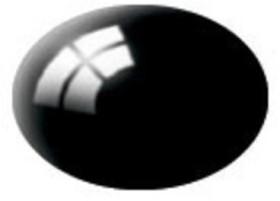 Revell Aqua Color schwarz, glänzend (36107)