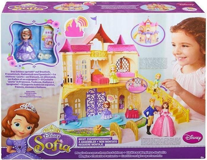 mattel barbie disney princess sofia die erste magisches sprechendes schloss cdt72 heise. Black Bedroom Furniture Sets. Home Design Ideas
