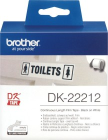 Brother DK-22212 continous label, 62mm, white, 1 Role (DK22212)