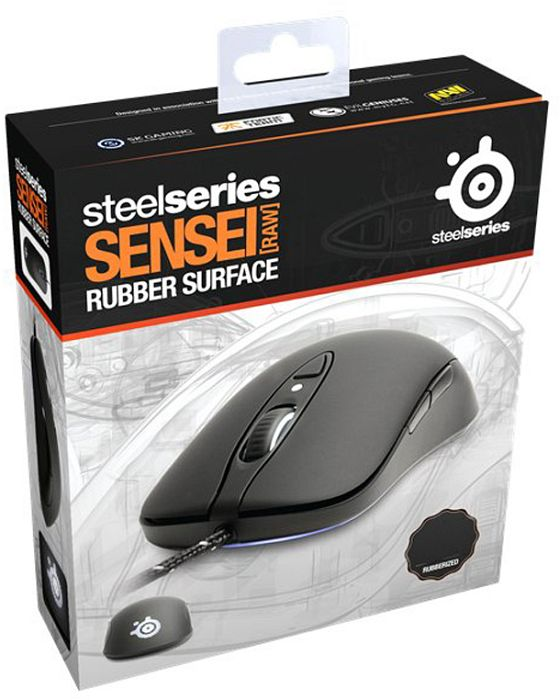 d3900b52934 SteelSeries Sensei RAW Rubberized, USB (62155) starting from £ 84.90 (2019)  | Skinflint Price Comparison UK