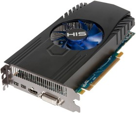 HIS Radeon HD 7850 Fan, 1GB GDDR5, DVI, HDMI, 2x mDP (H785F1G2M)