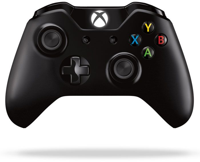 Microsoft Xbox One Wireless Controller, schwarz (Xbox One)