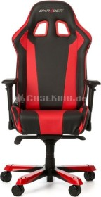 DXRacer King Series Gamingstuhl, schwarz/rot (GC-K06-NR-S3)