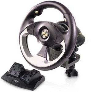 Saitek R100 Sports Wheel, USB (PC)