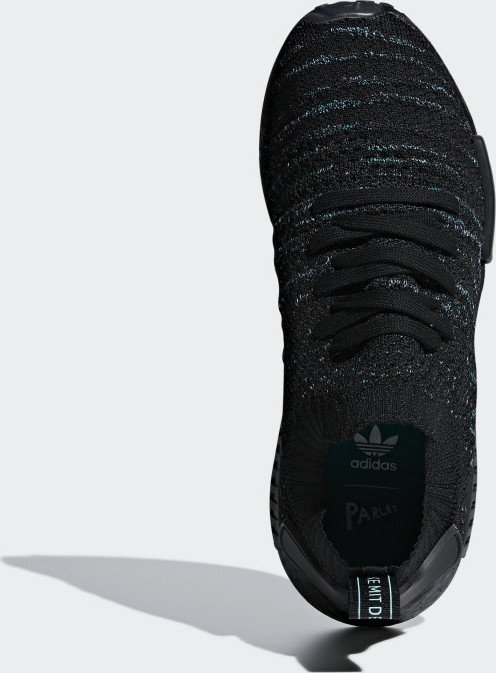 adidas NMD_R1 STLT Parley Primeknit core blackblue spiriteqt green (AQ0943) ab € 100,99