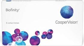 Cooper Vision Biofinity, +2.50 Dioptrien, 6er-Pack