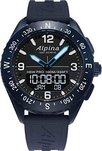 Alpina AlpinerX blau mit Kautschukarmband blau (AL-283LBN5NAQ6) -- via Amazon Partnerprogramm
