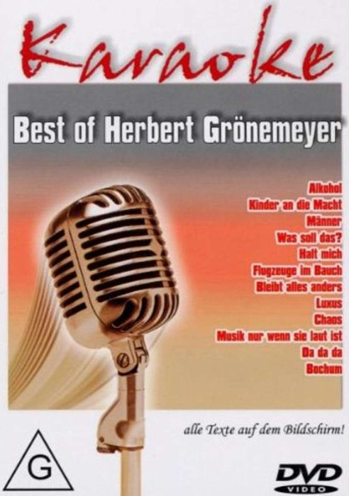 Karaoke: Best Of Herbert Grönemeyer -- via Amazon Partnerprogramm